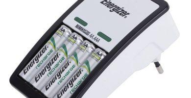 Cargador más 4 pilas AA Energizer MAXI