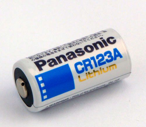 bateria panasonic cr123a